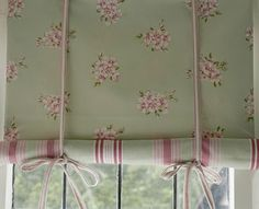 Double sided blind - very pretty.