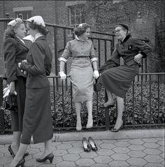 New York 1950s  Photo: Frank Oscar Larson