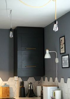 Top ideas on how to hide a boiler in your kitchen. If your ugly, unsightly boiler is spoiling your kitchen interior learn how to cover, paint, and obscure it. Industrial Kitchen Design, Design Your Kitchen, Best Kitchen Designs, Rustic Kitchen, Bathroom Cupboards, Modern Kitchen Cabinets, Kitchen Layout, Diy Cupboards, Kitchen Island