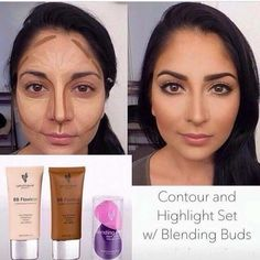 Contouring and Highlighting using the BB Flawless! AMAZEBALLS!