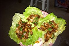 bacon & chicken lettuce wraps