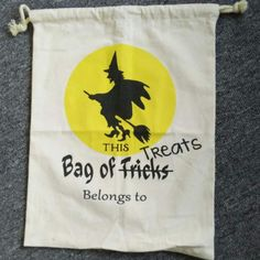 Wholesale Halloween Sacks Wholesale Halloween Tote With Drawstring On The Top…