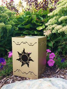 Disney's Tangled Lantern Inspired Solar Powered Light - Garden Art for your Yard or Home