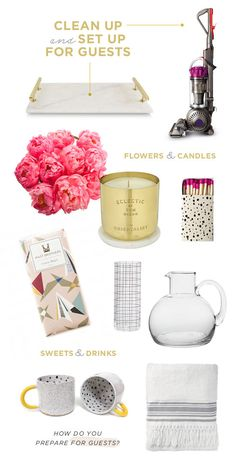 Hosting Guests Over The Holidays? Here Are Some Great House Guest Prep Tips  Via Designlovefest