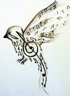 Tattoo ideas music notes symbols ideas for 2019 drawings Tattoo ideas music notes symbols ideas for 2019 Music Drawings, Pencil Art Drawings, Cool Drawings, Tattoo Drawings, Drawing Sketches, Pictures For Drawing, Drawing Ideas, Tumblr Sketches, Music Pictures