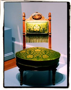 Metropolitan Museum of Art, New York : Sewing Chair, Attributed to Herter Brothers (1864–1906)