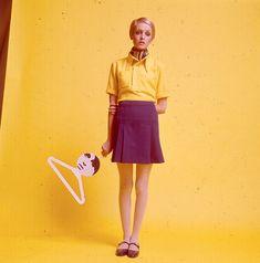 "vintagefashionandbeauty: """"Twiggy c. 1967 "" """