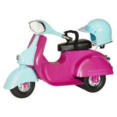 Our Generation Ride in Style Scooter - Fuchsia (Grandma & Grandpa ++)