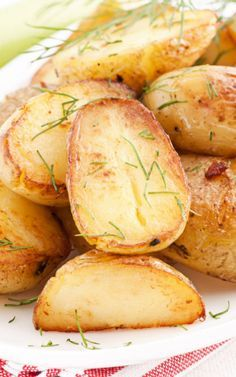 Golden Oven Roasted Potatoes Recipe