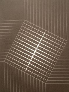Lothar Charoux 'Squares' 1970, Pinacoteca, Sao Paulo