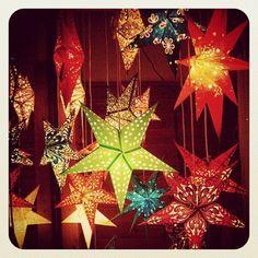 Star Paper Lantern Style Lights