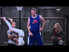 Studio C - Shoulder Angel and Shawn Bradley - YouTube