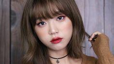 레드-브라운 메이크업 룩 // Red-Brown Makeup Look