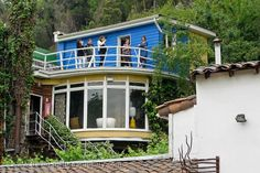 La Chascona was one of Chilean poet Pablo Neruda's three houses