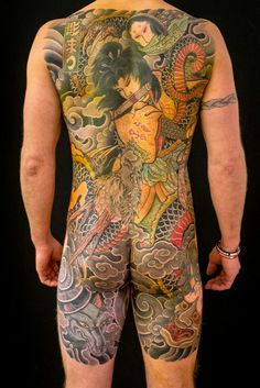 Irezumi, traditional Japanese Tattoos, erotic art and other artistic explorations by Senju Horimatsu from Umeå, Sweden. Dragon Tattoos For Men, Japanese Dragon Tattoos, Japanese Tattoo Art, Japanese Tattoo Designs, Full Back Tattoos, Full Body Tattoo, Body Art Tattoos, Tatoos, Tatuajes Irezumi