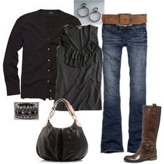 fall outfits for mom | Perfect fall outfit for the busy mom - comfy and ... | More Fashion