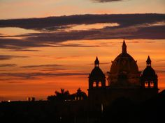 Atardecer en Cartagena 🌆