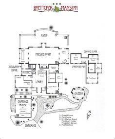 Boettcher Mansion Floor Plan