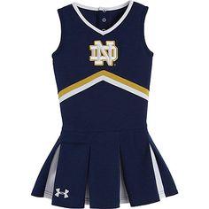 Under Armour Notre Dame Cheerleader Dress--Infant