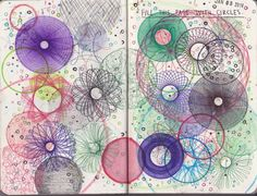 WRECK THIS JOURNAL - Fill this page with circles by n1ckys on deviantART