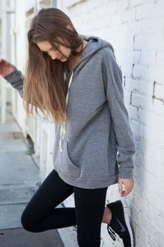Brandy ♥ Melville | Halle Hoodie - Clothing, How would you style this? http://keep.com/brandy-melville-halle-hoodie-clothing-by-melissamimimeli/k/0N_MoXABAP/