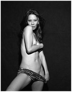 (♥) Lucy Liu - GQ - Photo Michel Comte