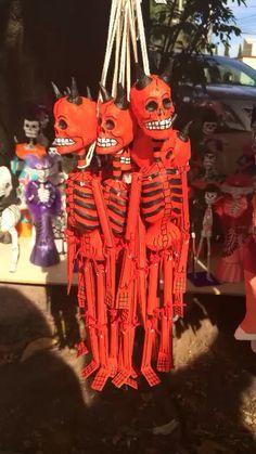 México diablos rojo red coyoacan art #artesaniasmexico