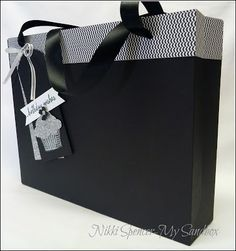 Nikki Spencer-My Sandbox: Gift Bag Punch Board!