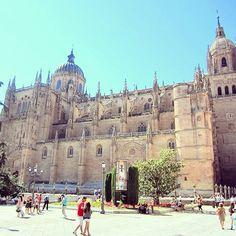 Plaza Mayor. Spain. #travel #spain #plazamayor Spain Travel, Barcelona Cathedral, Taj Mahal, Club, Instagram Posts, Spain Destinations