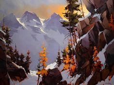 Precipice Tantalus, by Michael O'Toole