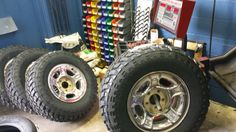 mounting and balancing tires for lifted pickup trucks #tires #liftedtruck #pickup