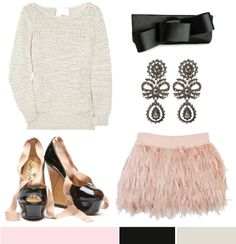 *Chanel Spring 2011 Couture, via style.com;Macronsby Mazal Simantov  *Sweater by 3.1 Phillip Lim, Shoes by Lanvin, Skirt from Filthy Magic, Earrings by Alexander McQueen, Clutch by Valentino