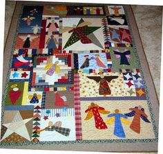 Nana Girl Quilts: My Angel Quilt