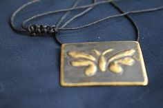 Simple Butterfly Charm Insect Necklace Butterfly Lover Gift