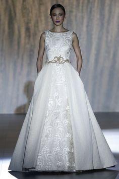 Vestidos de novia 2016 con cuello barco: Los diseños más sofisticados Image: 7