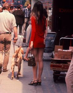Swinging London // Along the Kings Road // Chelsea // Circa // 1967