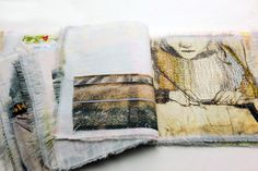 Jane McKeating  Jane's current work takes the form of small tactile rag books. Presented as visual narratives they utilise print, hand stitc...