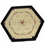 Hexagonal Carrom Board  - $120.00
