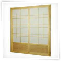Shoji Double Sided Sliding Door Kit Room Divider sliding doors