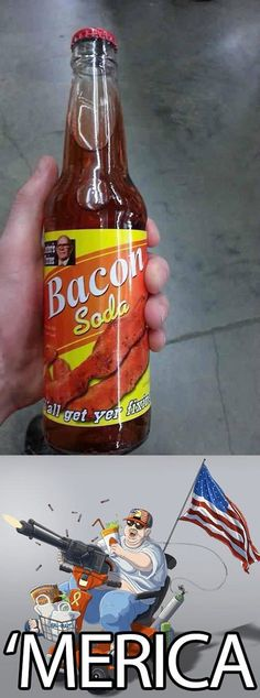 just to be clear. i love bacon, but only in the regular cured meat form. bacon soda. nyikes!