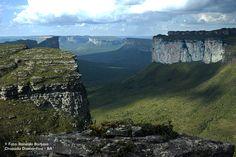 Vista do alto do Morro do Pai Inácio - Chapada Diamantina - BA / Foto: Ronaldo Barbosa
