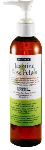 Jasmine Rose Petals Massage Oil / Body Oil 8 fl. oz. Pump BioSource Naturals http://www.amazon.com/dp/B009KDUHBK/ref=cm_sw_r_pi_dp_zjOuwb0YV9JZ5