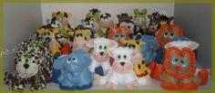 centro de mesa festa arca de noe para o pequeno Petherson em RJ...