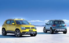 Cars world Concept of the new Volkswagen TAIGUN