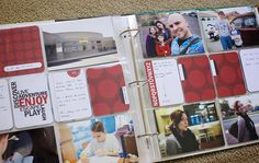 From Paperclipping: Another simple way to approach PL.  As a Journal: 1. Journal about a topic 2. Record what you did 3. Record what you're learning  Izzy's Project Life 2013 5 by Noell, via Flickr