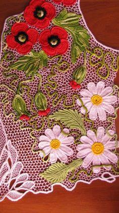 Irish crochet &: Ирландия Марины Шеиной. Author Marina Sheina