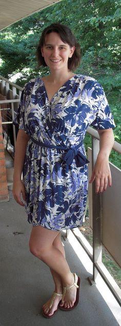 Dita Von Teese's Wrap Dress «  I Heart Jenny's Art