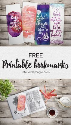 Trendy Art Journal Pages Quotes Free Printable Ideas Cool Bookmarks, Free Printable Bookmarks, Bookmark Template, Free Printables, Printable Book Marks, Homemade Bookmarks, Reading Bookmarks, Bookmark Printing, Paper Bookmarks