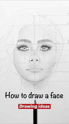 Easy Realistic Drawings, Realistic Face Drawing, Sketches Tutorial, Art Drawings Sketches Simple, Pencil Art Drawings, How To Draw Portraits, Easy Portrait Drawing, Drawing An Eye, How To Draw Faces