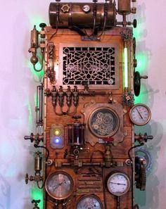 Frankenstein Steampunked Computer!